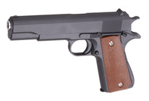 Galaxy G13 M1911 Full Metal Spring Pistol in Black