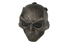 Skull Airsoft Mask MAS-57 in Copper
