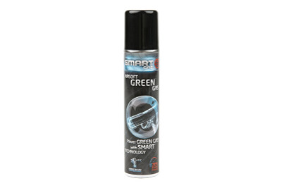 Smart Gas Airsoft Green Gas in small 100ml Pouch Can