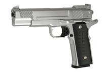Galaxy G20 M945 Full Metal Pistol in Silver