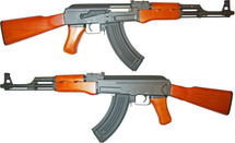 Cyma CM042M AK47 AEG in Wood/Black Finish