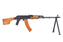 CYMA CM052 RPK LMG with Bipod in Real Wood/Black