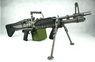 A&K MK43 Airsoft Support Gun with Bipod in Black