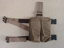 Vanguard Leg-mounted Ammo Pouch In Multicam Colour