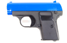 Galaxy G1 - Colt 25 Metal Spring Pistol BB Gun in Blue