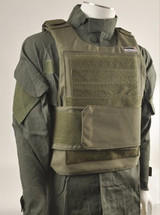 Swiss Arms Ensemble gilet light vest in olive green