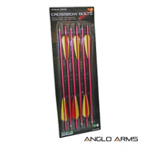 Anglo Arms Aluminium Crossbow Bolts 6 X 16 inch
