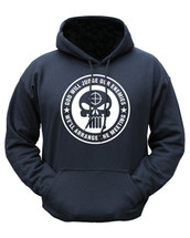 Kombat God Will Judge Hoodie In Black