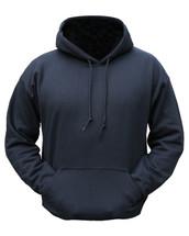 Kombat Plain Black Hoodie