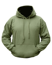 Kombat Plain Olive Green Hoodie