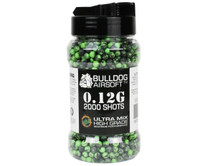 Bulldog Ultra Mix pellets 2000 x 0.12g Green-Black