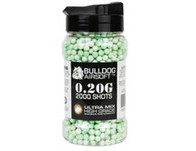 Bulldog Ultra Mix pellets 2000 x 0.20g Green-White