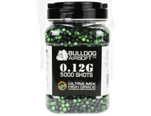 Bulldog Ultra Mix pellets 5000 x 0.12g Green-Black
