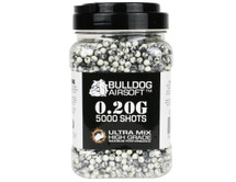 Bulldog Ultra Mix pellets 5000 x 0.20g Black-White