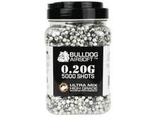 Bulldog Ultra Mix pellets 5000 x 0.20g Black-White