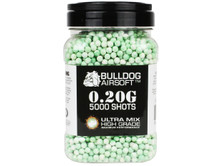 Bulldog Ultra Mix pellets 5000 x 0.20g Green-White