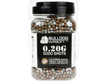 Bulldog Ultra Mix pellets 5000 x 0.20g Brown-Gray