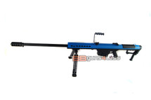Snow Wolf SW-13  Sniper Rifle with bipod in blue