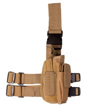 kombat US Tactical leg holster in Coyote Tan