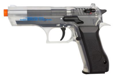 Cybergun Baby Desert Eagle Co2 Pistol Nbb In Clear Bbguns4less
