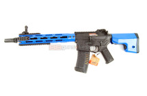 Ares AM009 M4 AEG Airsoft AEG Rifle in Blue