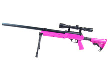 Well MB06 BB Sniper Rifle with scope & bipod in Purple
