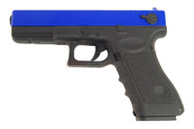 BROKEN//FAULTY-Cyma CM030 Electric Airsoft Pistol AEP blue/green