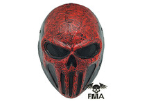 FMA Wire Mech Red Skull mask
