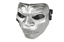 Cannibal Airsoft Mask in Silver