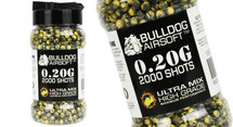 Bulldog Ultra Mix pellets 2000 x 0.20g yellow-black