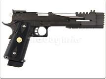 WE Tech CAPA 7.0 Gas Blowback black Pistol