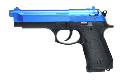 cyma cm126 airsoft electric pistol aep in blue