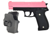 Galaxy G26H P226 Full Metal Pistol with Holster in pink