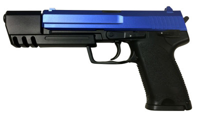 CCCP CT8 MK23 Socom Non Blowback Gas Pistol in Blue