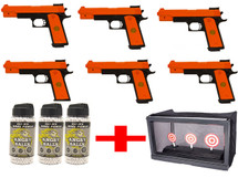 Double Eagle P169 - 6 player pistol party pack