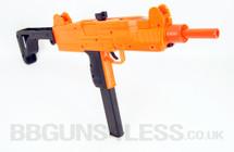 Well D91 Electric UZI Airsoft BB Gun in Orange