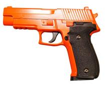 Galaxy G26 P226 Full Scale Metal pistol With Rail Orange