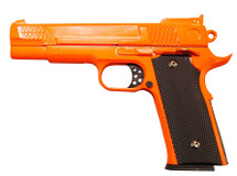 Galaxy G20 Full Scale M945 pistol in Full Metal in Orange