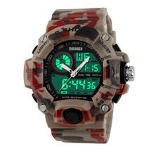 G Style Army Digital Rubber Sports Wrist Watch in Desert Camo
