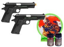 Crosman Undead Apocalypse Ztinger Kit With Target
