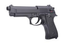 Cyma CM126 Electric Airsoft Pistol AEP in Black