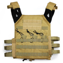 WoSport JPC Plate Carrier Tactical Vest in Tan