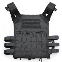 JPC Plate Carrier Tactical Vest in Black