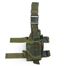BV Tactical Leg Holster in Flecktarn Camo