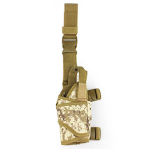 BV Tactical Leg Holster in Digital Desert Camo