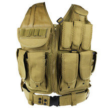 WoSport Tactical Mesh Vest in Tan