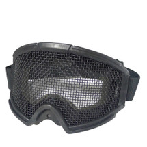 WoSport Gear Mesh Goggle in Black