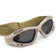BV Tactical Small Mesh Goggles in Tan