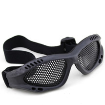 BV Tactical Small Mesh Goggles in Black