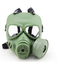 WoSport Air Filtration Gas Mask with Fan in Olive Drab